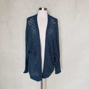 URBAN OUTFITTERS open weave long cardigan sweater